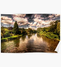 The River Exe at Bickleigh Poster