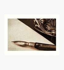 Pen and Paper Art Print