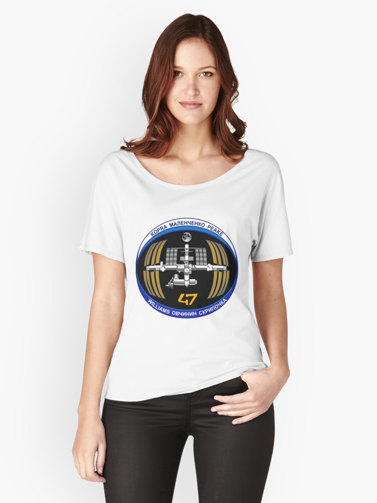 Expedition 47 Patch Women's Relaxed Fit T-Shirt Front