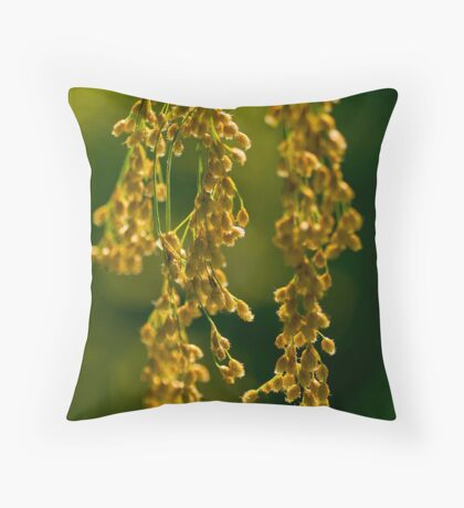 Nature's Abstract 7 Throw Pillow