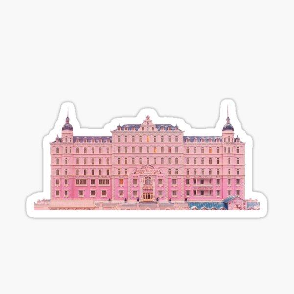 El gran hotel de Budapest Pegatina