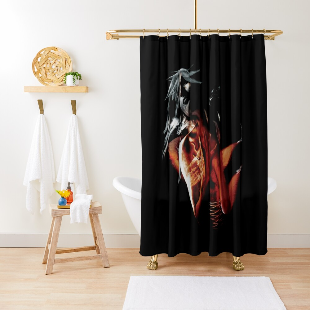 Fallen Angel Creative Design Shower Curtain