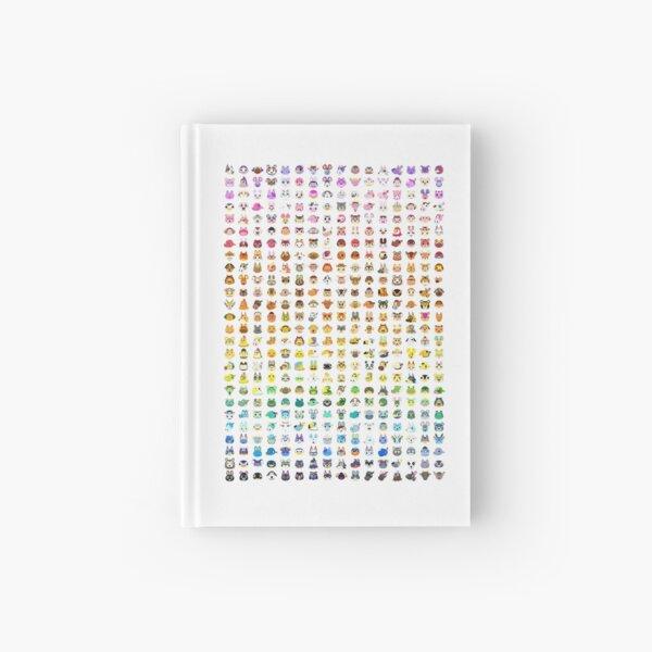 Animal Crossing Villager Rainbow  Hardcover Journal