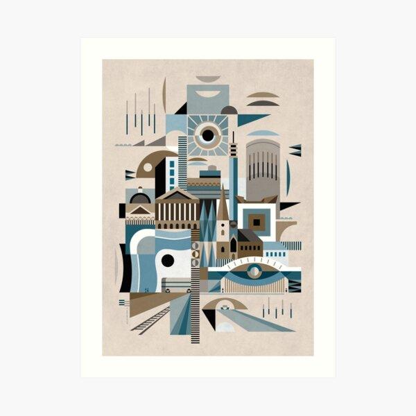 Modernist Brum I Art Print