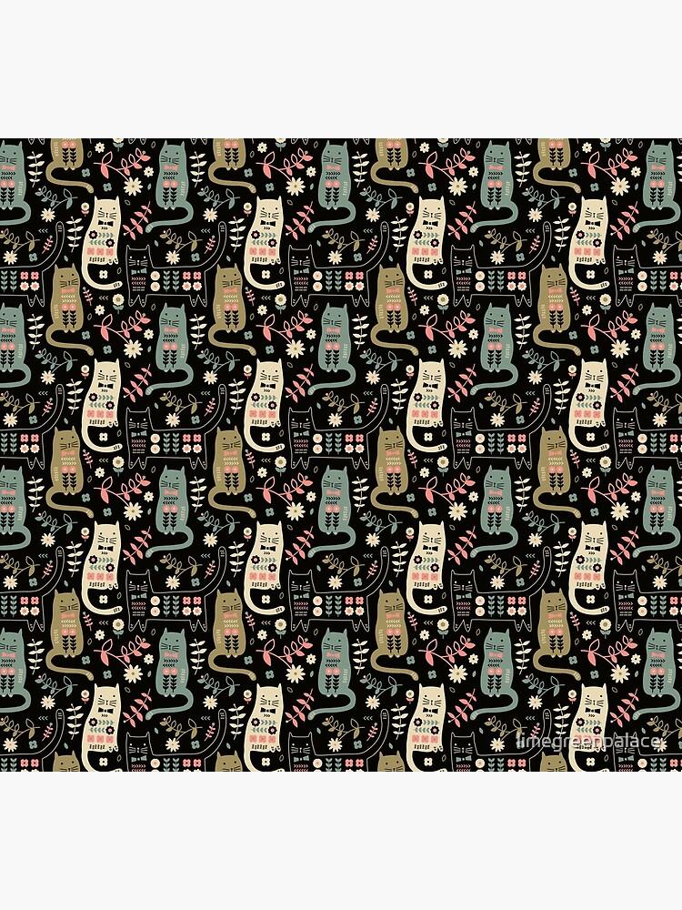 Cat Folk  by limegreenpalace
