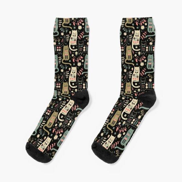 Cat Folk  Socks