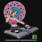 Enlightened DJ Girl - July 2012 CRUNKECOWEAR.NET BEGREENRECORDS.NET by David Avatara