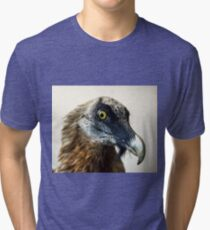 Stuffed wild bird head in museum of nature Tri-blend T-Shirt