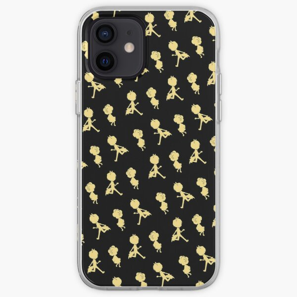 The Chase (Pattern - Golden Yellow & Black) iPhone Soft Case
