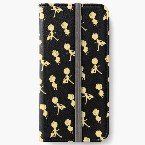 The Chase (Pattern - Golden Yellow & Black) iPhone Wallet