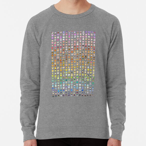 Animal Crossing Villager Rainbow  Lightweight Sweatshirt