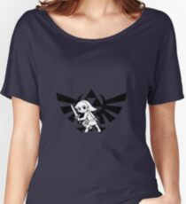 Link and Triforce Women's Relaxed Fit T-Shirt
