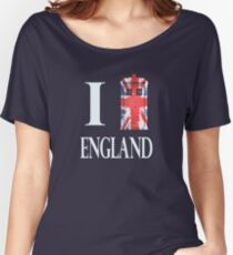 I Who? England! Women's Relaxed Fit T-Shirt