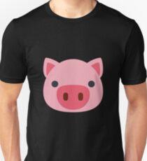 Pig Face Emoji T-Shirt
