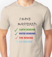 KORRA'S ELEMENT MASTERY CHECKLIST Unisex T-Shirt