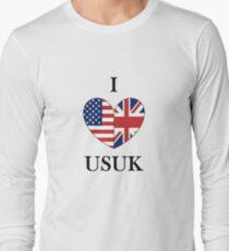 I Heart USUK Long Sleeve T-Shirt