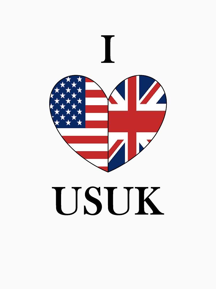 I Heart USUK | Unisex T-Shirt