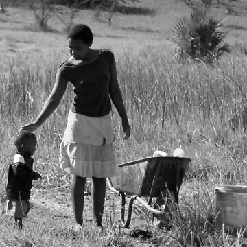A Zulu Mother and her son by snakemastermyke