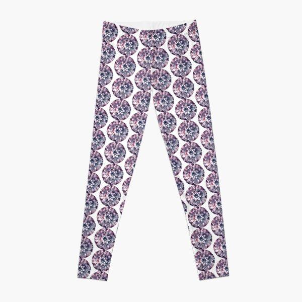 Pink and Blue Prettiness Mandala Leggings