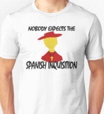 Nobody Expects the Spanish Inquisition Unisex T-Shirt