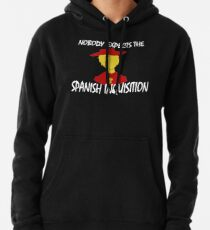 Sudadera con capucha Nadie espera la inquisición española