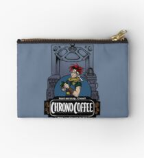 Chrono Coffee Zipper Pouch