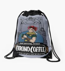 Chrono Coffee Drawstring Bag