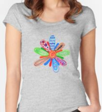 If Only I Could Have You In My Garden... Women's Fitted Scoop T-Shirt