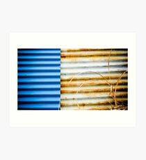 In Corrugation We Trust Art Print