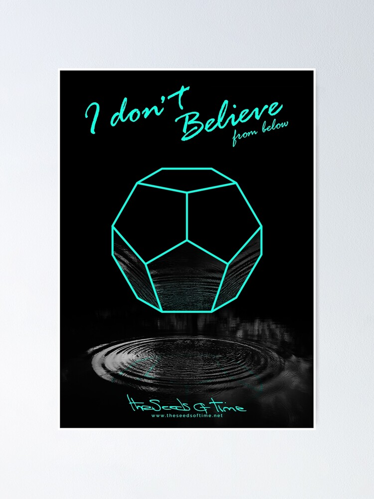 Alternate view of I don't believe (from below) Poster