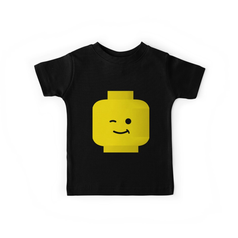 Minifig Winking Head by Customize My Minifig by Customize My Minifig