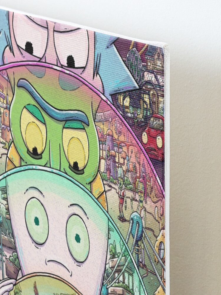 Alternate view of The Ricks Must Be Crazy Mounted Print