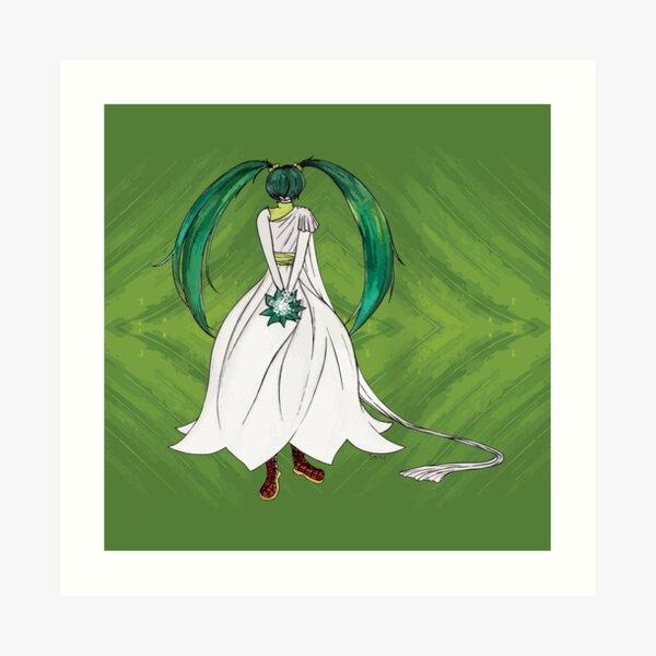 Flower Girl : Muguet (Lily of the valley) Art Print