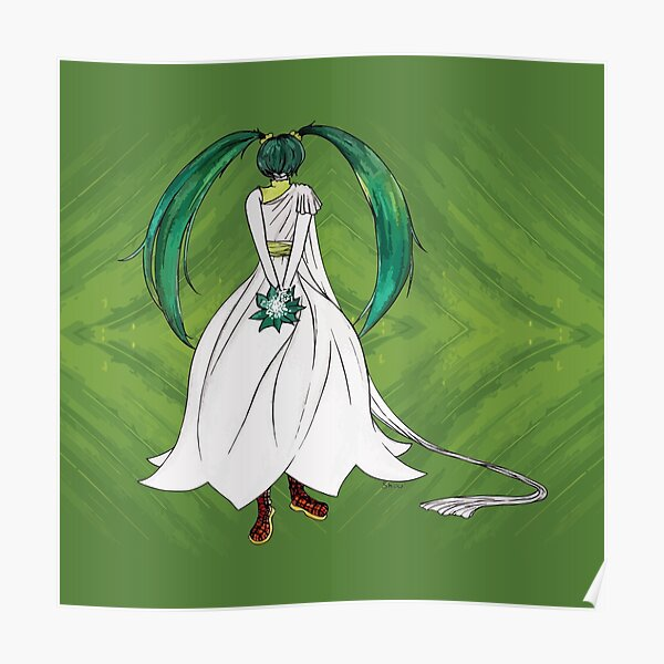 Flower Girl : Muguet (Lily of the valley) Poster