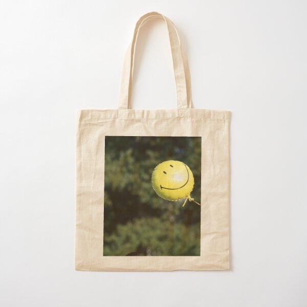 Just Smile - Have a Nice Day! Cotton Tote Bag