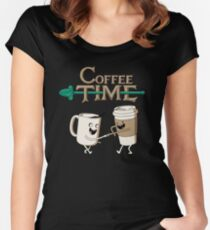 Coffee Time! Women's Fitted Scoop T-Shirt