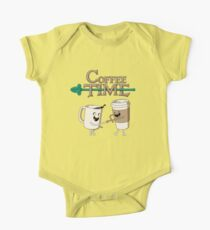 Coffee Time! One Piece - Short Sleeve