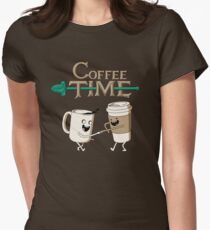 Coffee Time! Women's Fitted T-Shirt