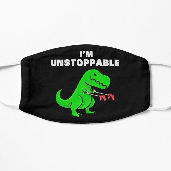 JE SUIS dinosaure UNSTOPPABLE T-Rex Tyrannosaurus Masque sans plis