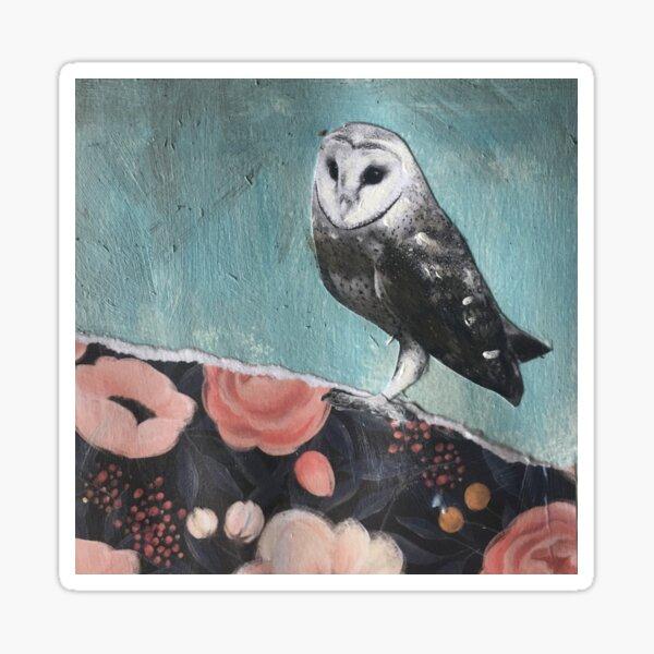owl of my heart Sticker