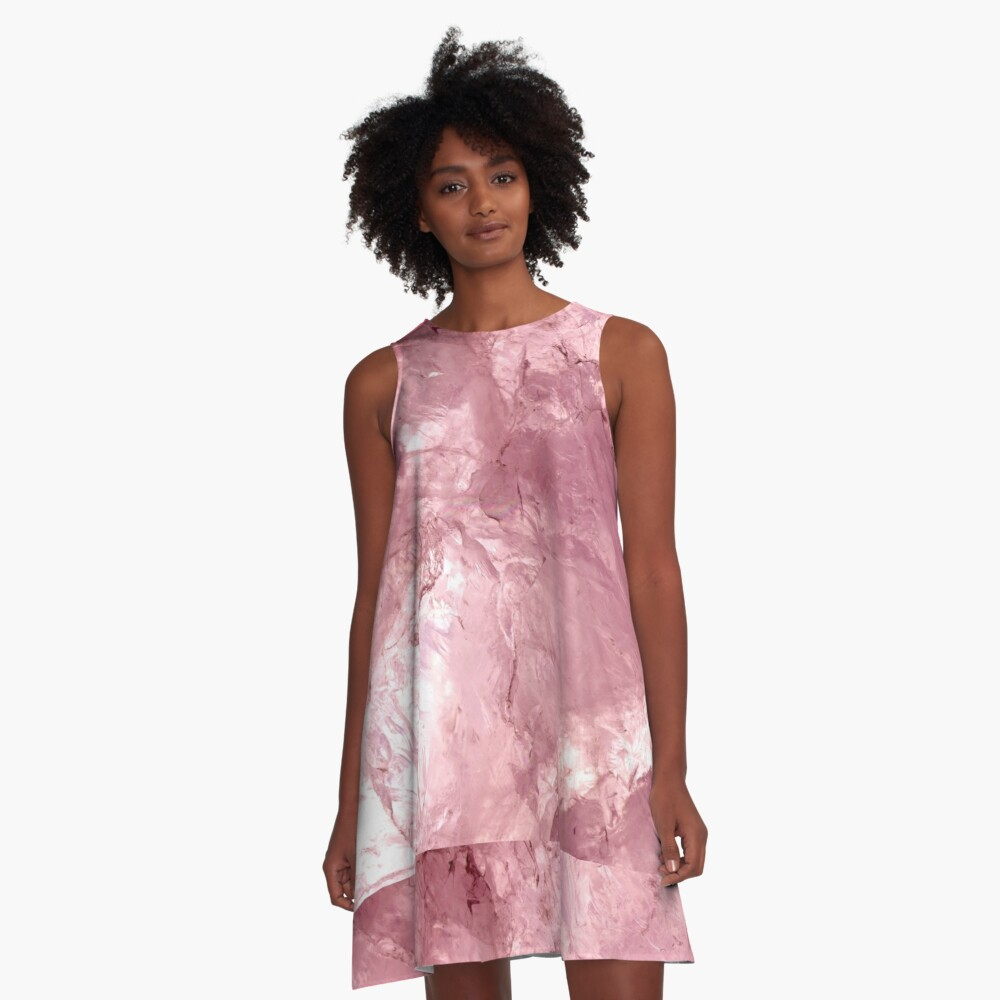 Rose Quartz A-Line Dress