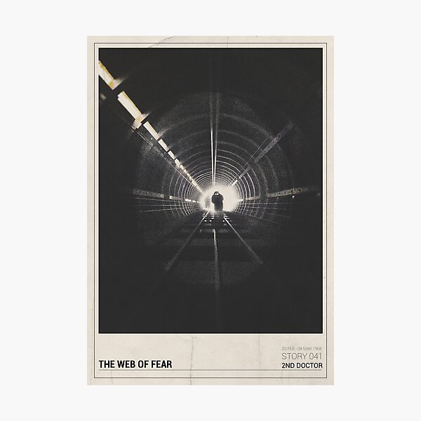 The Web of Fear Photographic Print