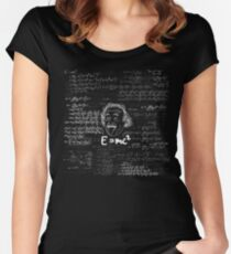 E = mc2 Fitted Scoop T-Shirt
