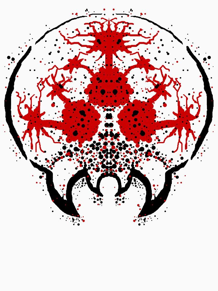Metroid Rorschach Test    Unisex T-Shirt