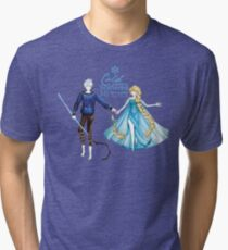 Cold never bothered me anyway (Jelsa) Tri-blend T-Shirt