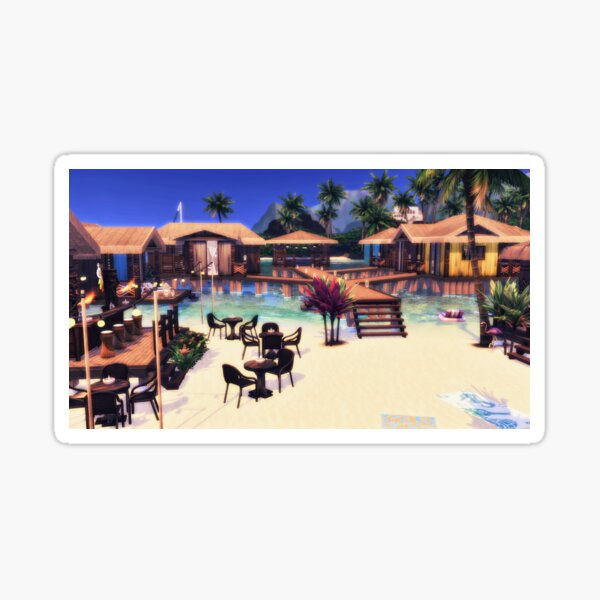 Flamingo Springs Sticker