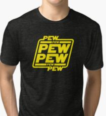 Pew pew pew Tri-blend T-Shirt