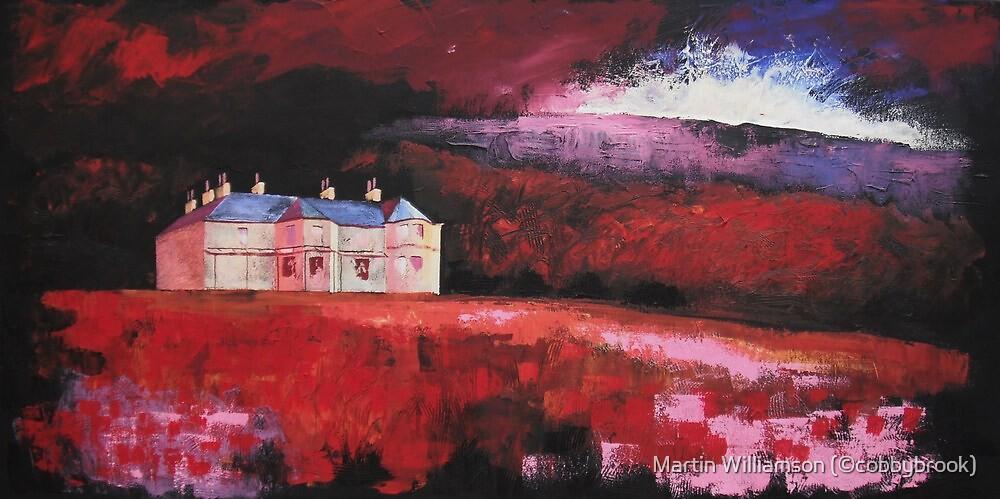 'Malham Tarn House' by Martin Williamson (©cobbybrook)