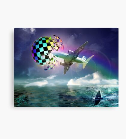 Rainbow Set Free Canvas Print