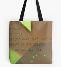 Pray Without Ceasing Tote Bag